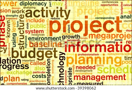 Project Planning and Phase as a Background - stock photo