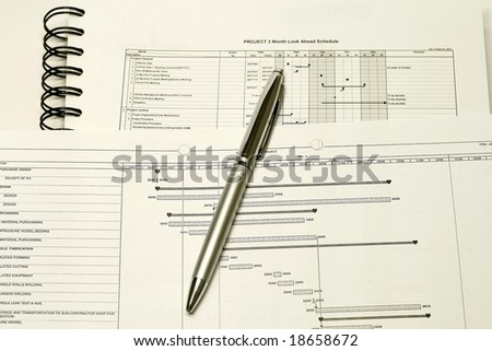Project Planning and Schedule concept