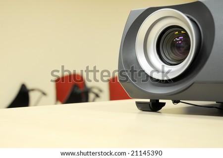 projector closeup - stock photo