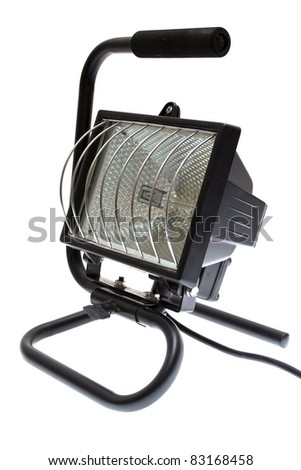 projector is isolated on a white background