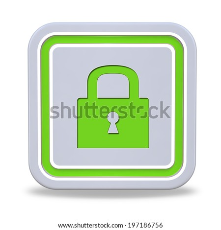 protect square icon on white background