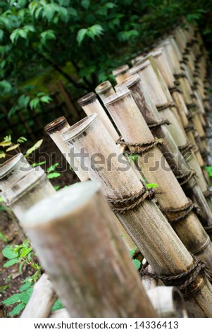 Protection from a natural bamboo.