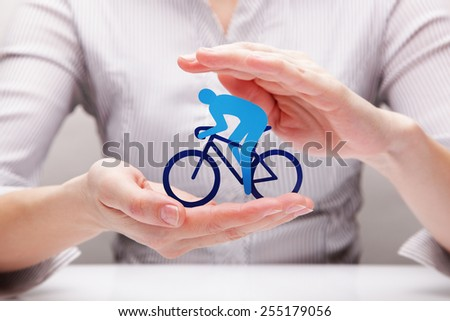 Protection of cyclist (concept)