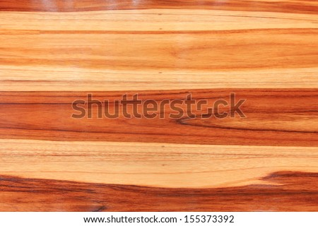 Protective lacquer coating wood surfaces, Paint tin on waxed floor, wooden background - square format  - stock photo