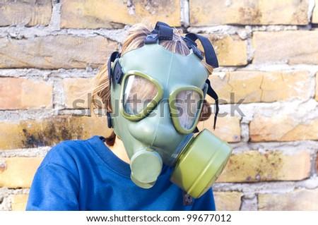 protective mask - stock photo