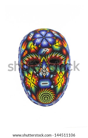 Psychedelic Mask, mexican craft
