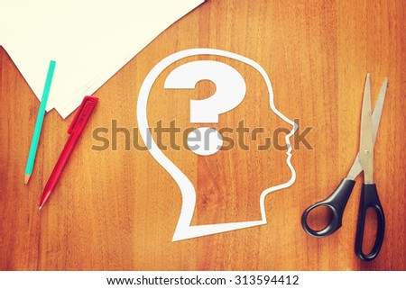 Psychology of the human mind. Abstract conceptual image - stock photo