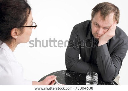Psychotherapy - stock photo