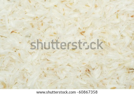 Psyllium seed husks - stock photo