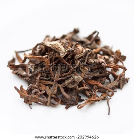 Pu-erh tea - stock photo