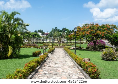 public park in Petit Canal, Guadeloupe