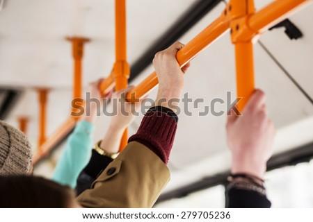 public transport - stock photo