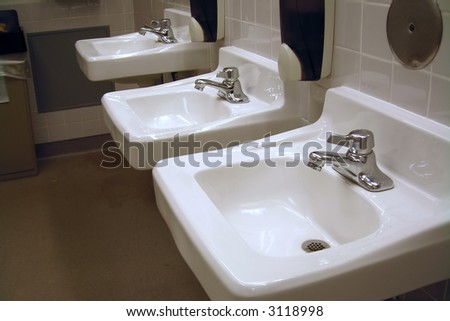301 moved permanently for Public bathroom sink