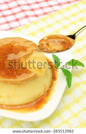 pudding - stock photo