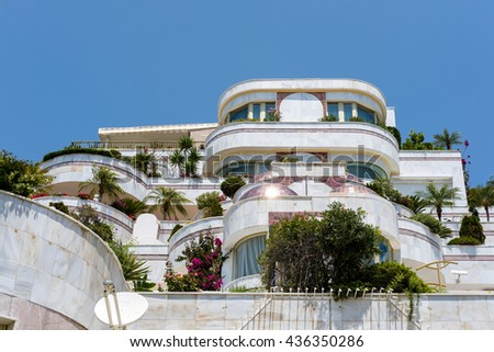 PUERTO BANUS ANDALUCIA/SPAIN - MAY 26 : Luxury accommodation in Puerto Banus Spain on May 26, 2016