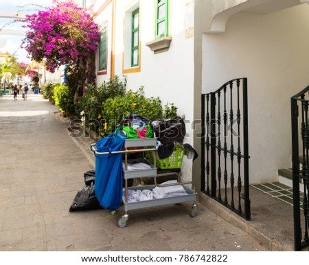 Cleaning Trolley Stock Images Royalty Free Images
