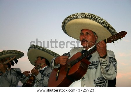 Puerto Vallarta Mariachi Band - stock photo