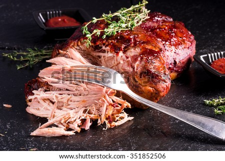 Pulled Pork - stock photo