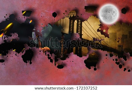Pulp Art  - stock photo