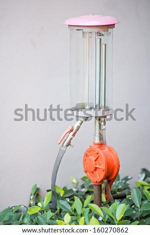 pump tube in thailand - stock photo