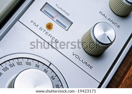 pump up the volume - stock photo