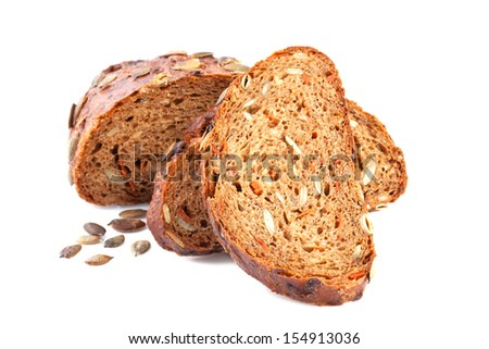 Pumpkin Carrot Bread - stock photo