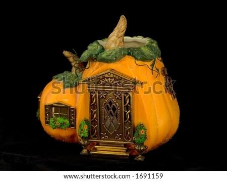 Pumpkin House - stock photo