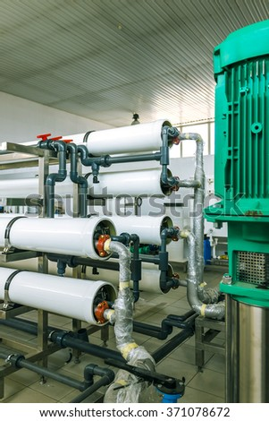 pumps and piping system filtration and water purification
