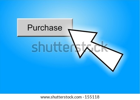 purchase button - stock photo