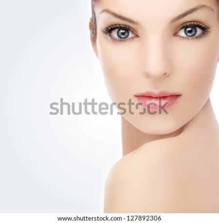 Pure beauty - stock photo