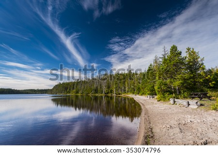 Pure Lake, Haida Gwaii British Columbia