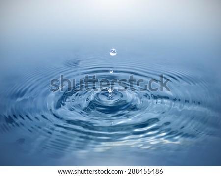 Pure water - stock photo