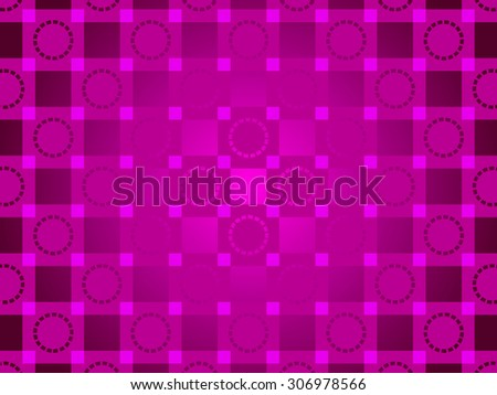 purple abstract background, particles circles and squares