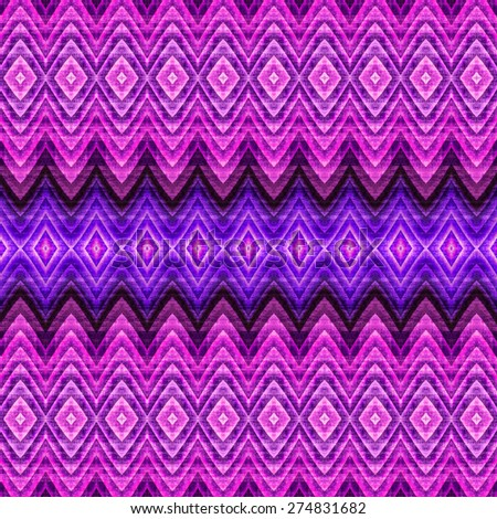 purple abstract Intricate seamless pattern background, ethnic ornamental fabric design