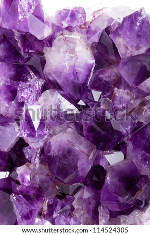 Purple amethyst background