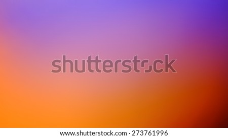 Purple and orange out of focus abstract background - stock photo