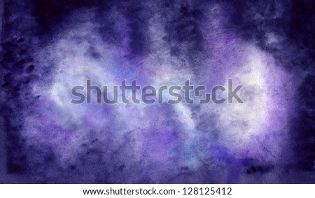 Purple Atmospheric Background - stock photo