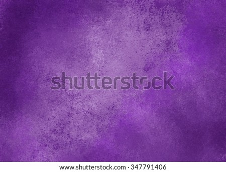purple background with light center and dark border and vintage distressed background texture - stock photo