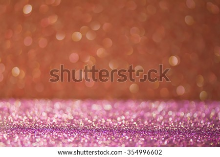 Purple background with pink. Elegant abstract background with bokeh defocused lights - can be used for montage or display your products - stock photo