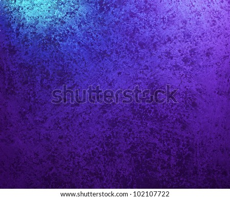 Purple Blue Background Wallpaper With Vintage Grunge Texture Design And Lighting Has Stain Spots