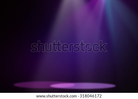 Purple&Blue stage light background