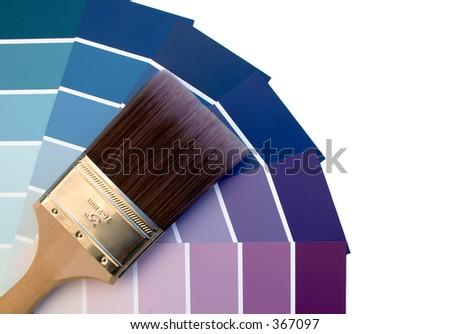 Purple Blues - stock photo