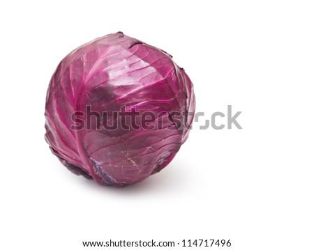 purple cabbage - stock photo