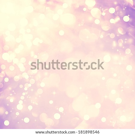 Purple colored abstract shiny light and glitter background - stock photo