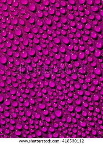 Purple drops background. - stock photo