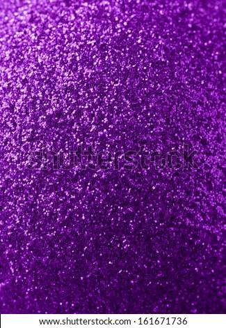 purple glitter background - stock photo