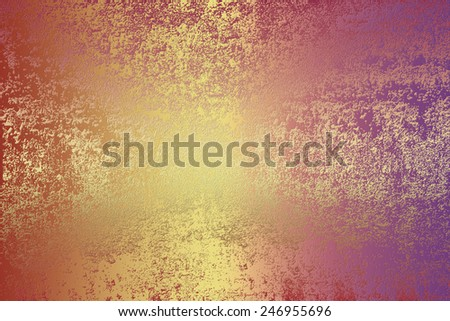 Purple golden , abstract   background , with   painted  grunge background texture for  design . - stock photo