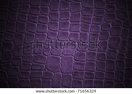 purple gridded  leather texture - stock photo
