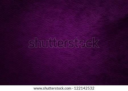 purple leather - stock photo