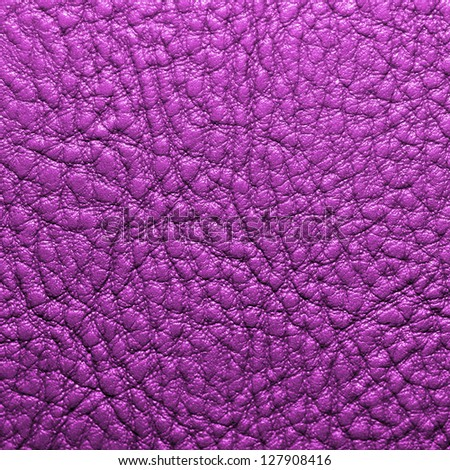 purple leather texture for background - stock photo